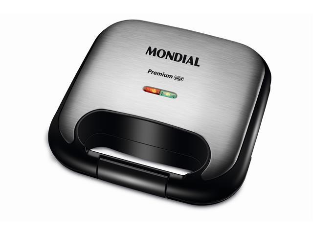 Grill e Sanduicheira Mondial S-25 Premium Inox 220V