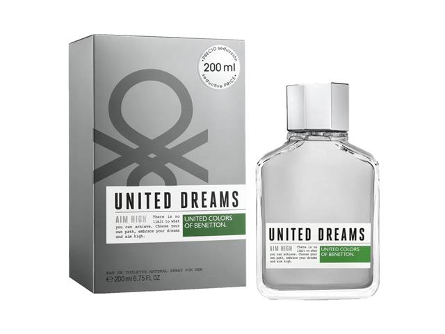 Perfume Benetton United Dreams Aim High Masculino EDT 200ML