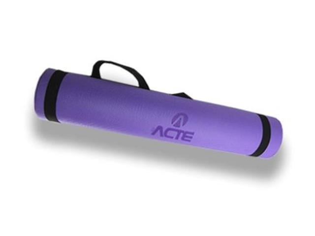 Tapete Acte Sports para Yoga Mat Nacional Lilás