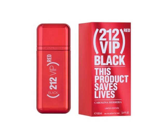 Perfume Carolina Herrera 212 Vip Men Black RED Masculino EDP 100ML