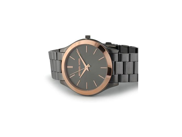 Relógio Michael Kors Essential Masculino MK8576/5PN Grafite com Rosé - 2