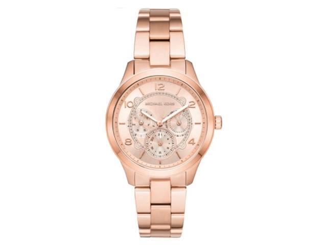 Relógio Michael Kors Essential Feminino MK6589/1JN Runway Bronze