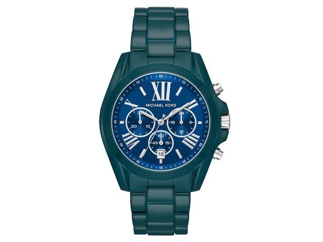 Relógio Michael Kors Big Cases Feminino MK6723/1VN Azul