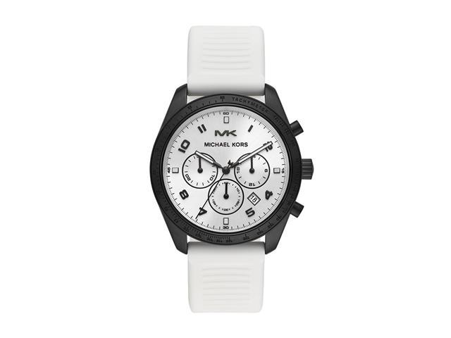 Relógio Michael Kors Big Cases Feminino MK8685/8BN Preto com Branco