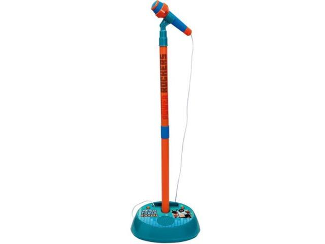 Microfone Infantil Fun Power Rockers com Pedestal e Amplificador