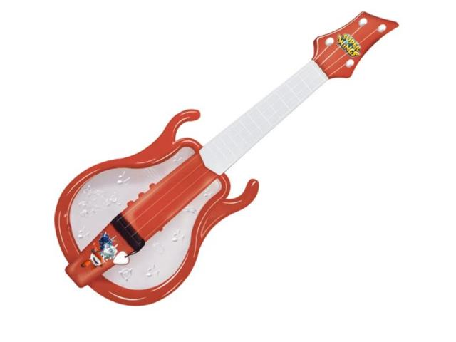 Guitarra Infantil Fun Super Wings Vermelha
