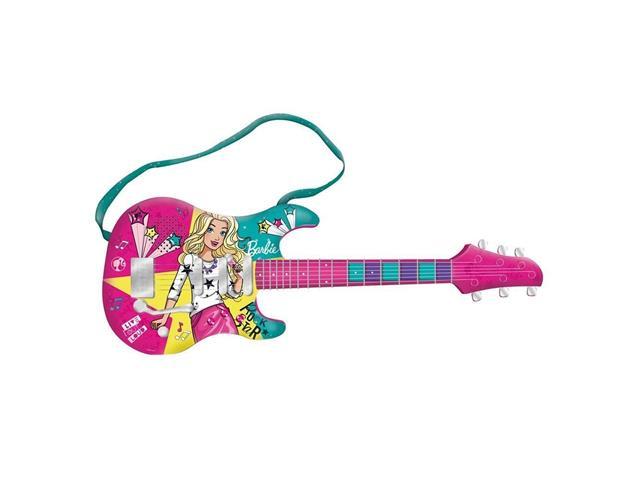 Guitarra Fabulosa Fun Barbie com Função MP3 Player