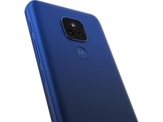 """Smartphone Motorola Moto E7 Plus 64GB Duos 6.5"""" 4G Câm 48+2MP Azul - 6"""