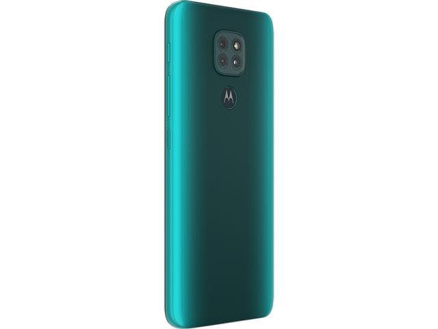 """Smartphone Motorola Moto G9 Play Verde Turquesa 64GB, 4GB RAM, Tela de 6.5"""", Câmera Traseira Tripla, Android 10 e Processador Octa-Core - 8"""