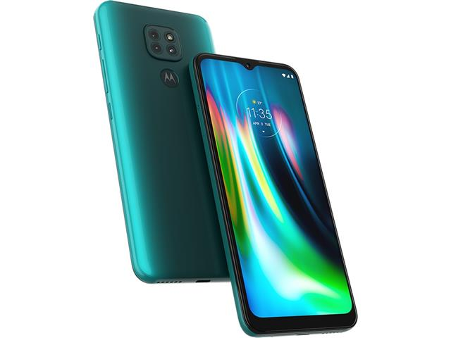 """Smartphone Motorola Moto G9 Play Verde Turquesa 64GB, 4GB RAM, Tela de 6.5"""", Câmera Traseira Tripla, Android 10 e Processador Octa-Core - 2"""