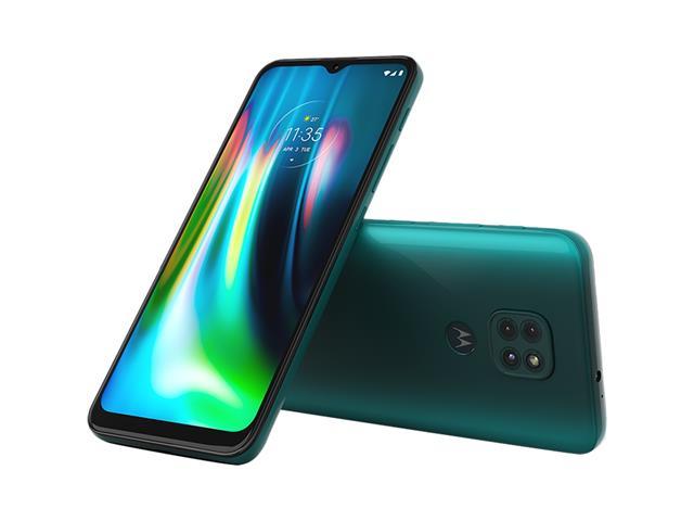 """Smartphone Motorola Moto G9 Play Verde Turquesa 64GB, 4GB RAM, Tela de 6.5"""", Câmera Traseira Tripla, Android 10 e Processador Octa-Core - 1"""