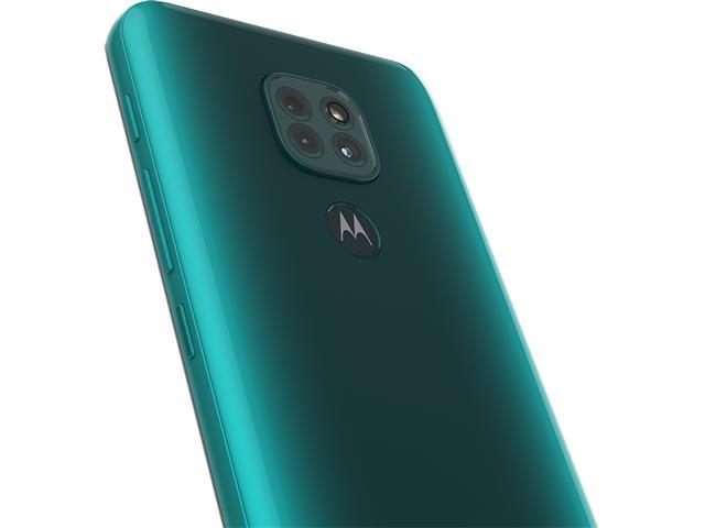 """Smartphone Motorola Moto G9 Play Verde Turquesa 64GB, 4GB RAM, Tela de 6.5"""", Câmera Traseira Tripla, Android 10 e Processador Octa-Core - 6"""