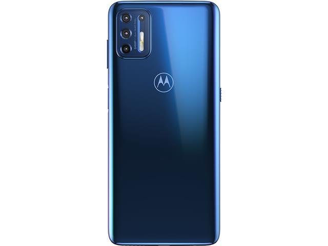 """Smartphone Motorola Moto G9 Plus Azul Índigo 128GB, 4GB RAM, Tela de 6.8"""", Câmera Traseira Quádrupla, Android 10 e Processador Octa-Core - 4"""