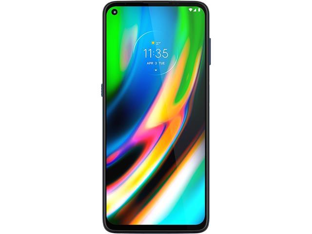 """Smartphone Motorola Moto G9 Plus Azul Índigo 128GB, 4GB RAM, Tela de 6.8"""", Câmera Traseira Quádrupla, Android 10 e Processador Octa-Core - 1"""