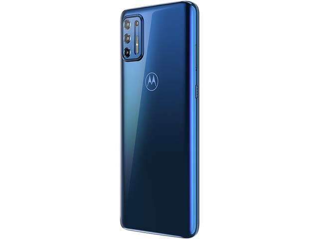 """Smartphone Motorola Moto G9 Plus Azul Índigo 128GB, 4GB RAM, Tela de 6.8"""", Câmera Traseira Quádrupla, Android 10 e Processador Octa-Core - 6"""