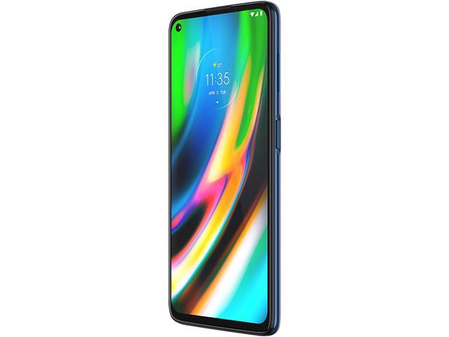"""Smartphone Motorola Moto G9 Plus Azul Índigo 128GB, 4GB RAM, Tela de 6.8"""", Câmera Traseira Quádrupla, Android 10 e Processador Octa-Core - 3"""