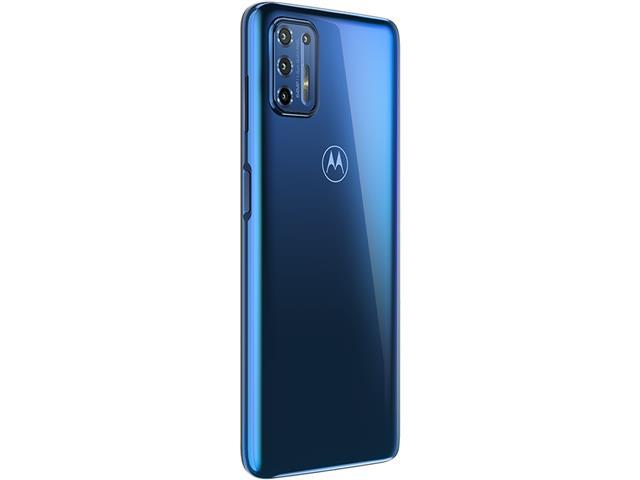 """Smartphone Motorola Moto G9 Plus Azul Índigo 128GB, 4GB RAM, Tela de 6.8"""", Câmera Traseira Quádrupla, Android 10 e Processador Octa-Core - 5"""