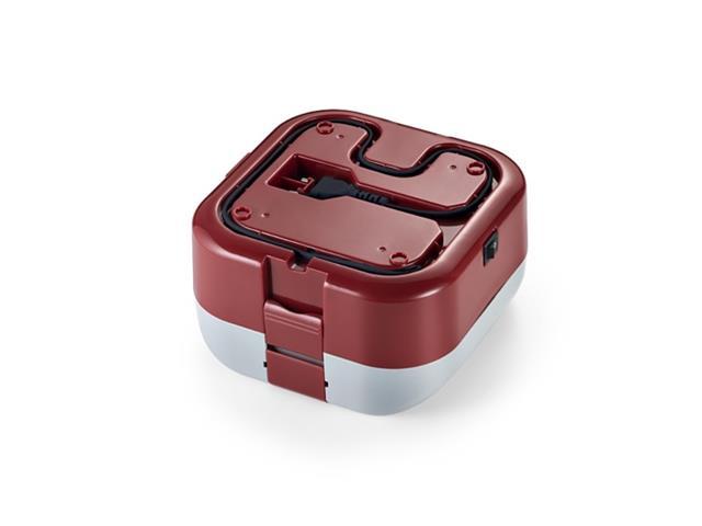 Marmita Elétrica Mulilaser 1,6 Litros com Divisórias Vermelha Bivolt - 3