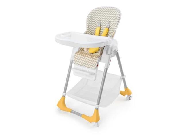 Cadeira Alta de Alimentação Multikids BB606 Gourmet Cinza até 15Kg - 2