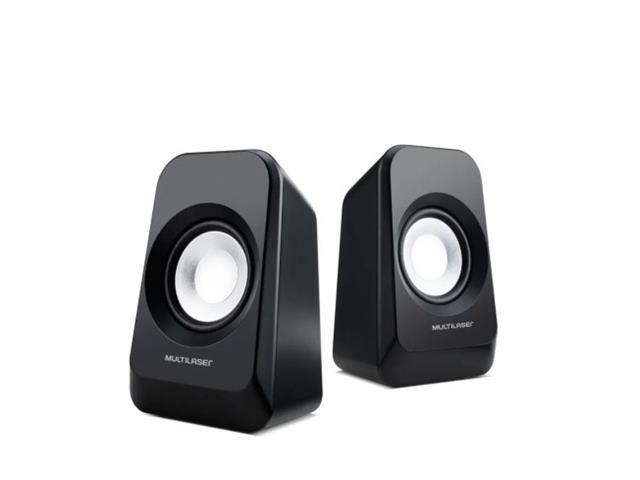 Caixa de Som Boombox Multilaser SP337 AUX/USB/FM 20W - 2