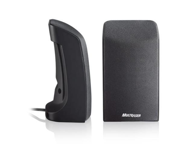 Caixa de Som Multilaser SP093 2.0 1W USB Preta - 1