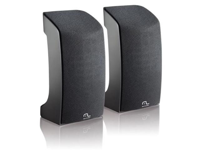 Caixa de Som Multilaser SP093 2.0 1W USB Preta