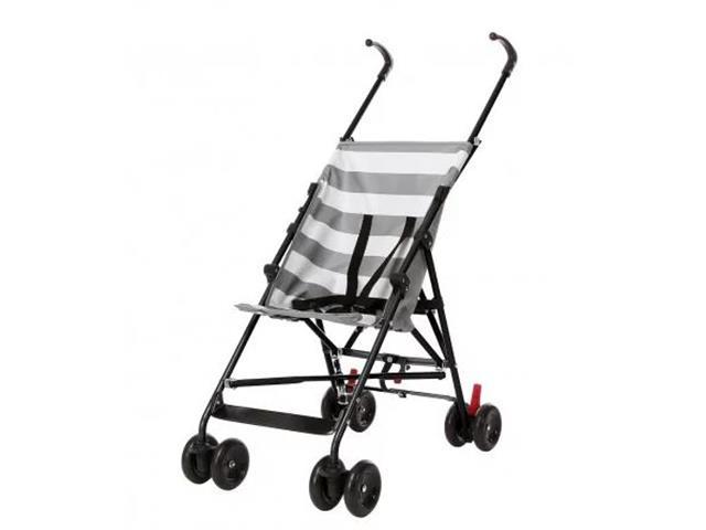 Carrinho de Bebê Guarda-Chuva Multikids BB559 Baby Navy Cinza - 2