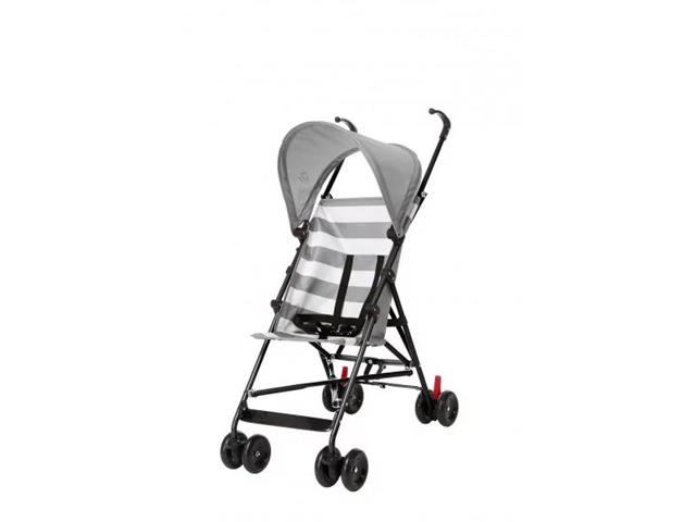 Carrinho de Bebê Guarda-Chuva Multikids BB559 Baby Navy Cinza
