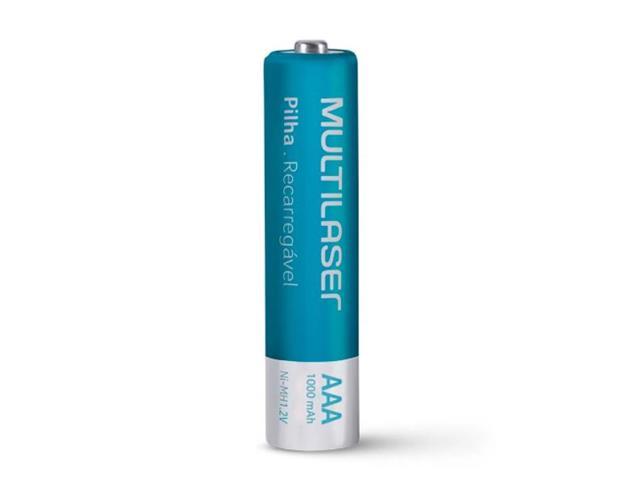 Carregador de Pilhas MultilaserCB093 AA/AAA + 8 Pilhas - 1
