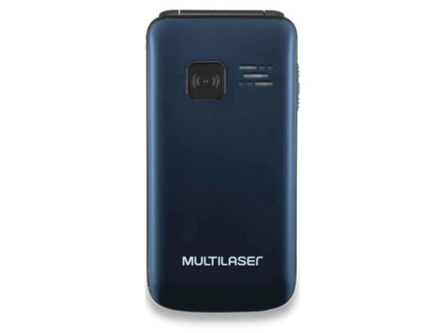 Celular Flip Multilaser P9020 Vita Dual Chip MP3 Azul - 1