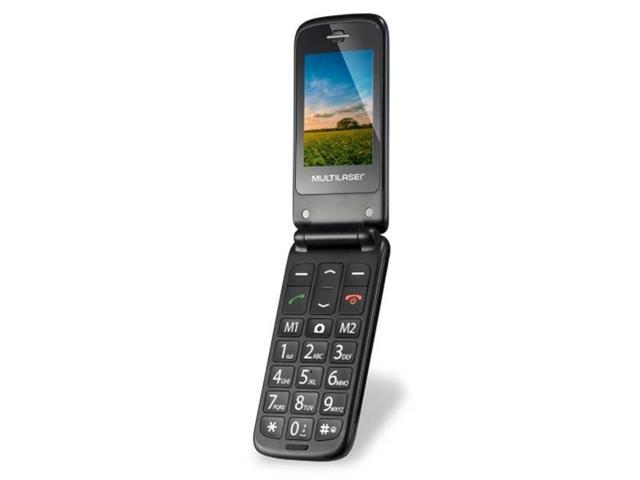 Celular Flip Multilaser P9020 Vita Dual Chip MP3 Azul - 3