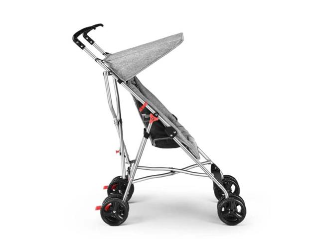 Carrinho de Bebê Guarda-Chuva Pocket Multikids Baby BB500 Cinza - 2