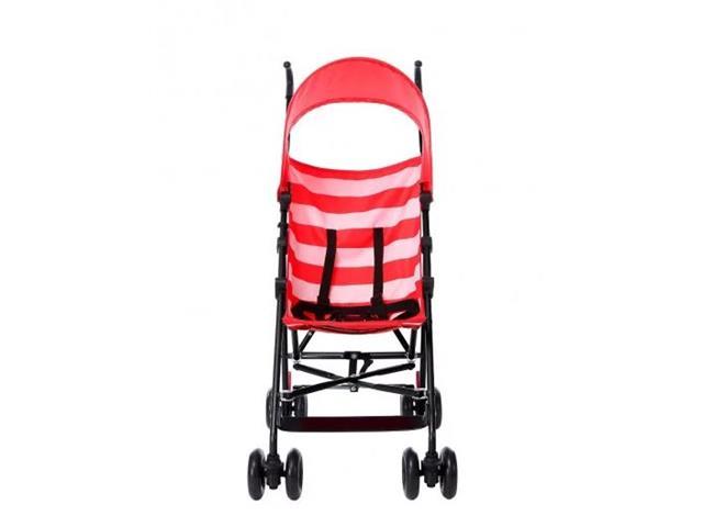 Carrinho de Bebê Guarda-Chuva Multikids BB558 Baby Navy Vermelho - 3