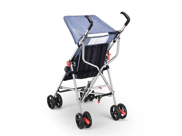 Carrinho de Bebê Guarda-Chuva Pocket Multikids Baby BB501 Azul - 5
