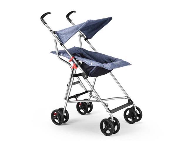Carrinho de Bebê Guarda-Chuva Pocket Multikids Baby BB501 Azul - 1