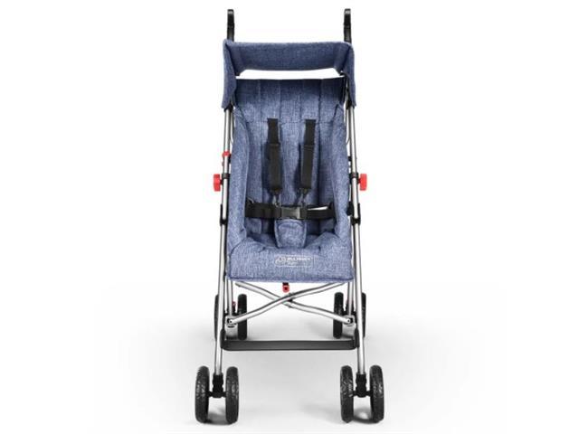 Carrinho de Bebê Guarda-Chuva Pocket Multikids Baby BB501 Azul - 2