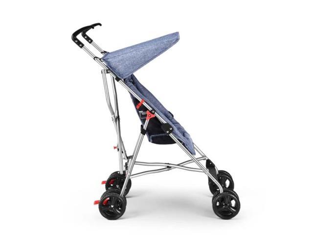Carrinho de Bebê Guarda-Chuva Pocket Multikids Baby BB501 Azul - 3