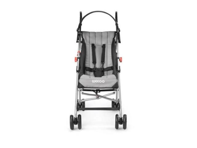 Carrinho de Bebê Guarda-Chuva Multikids BB506 Way Melange Weego Preto - 1