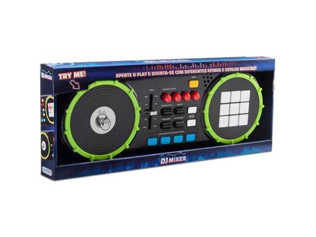 Dj Mixer Multikids BR1175 Painel de Led - 2