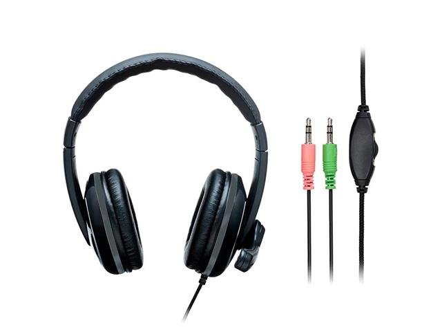Headset Pro Multilaser PH316 P2 Preto/Cinza - 3