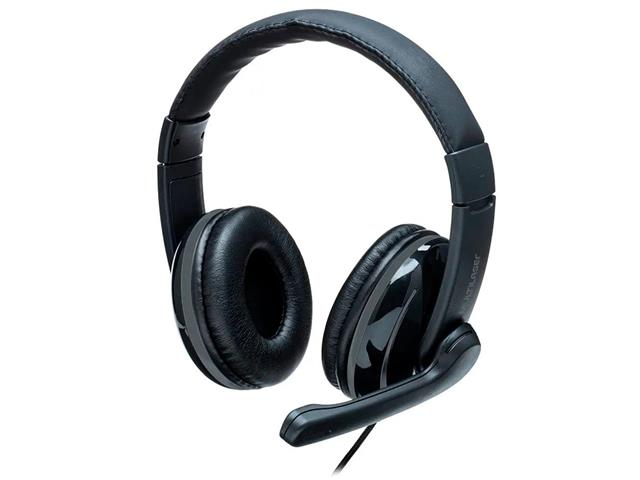 Headset Pro Multilaser PH316 P2 Preto/Cinza