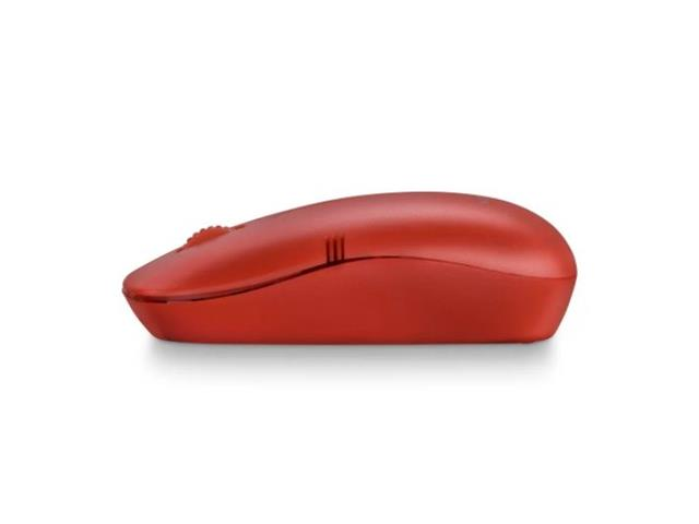 Mouse Sem Fio Multilaser MO289 2.4GHZ USB Vermelho - 1