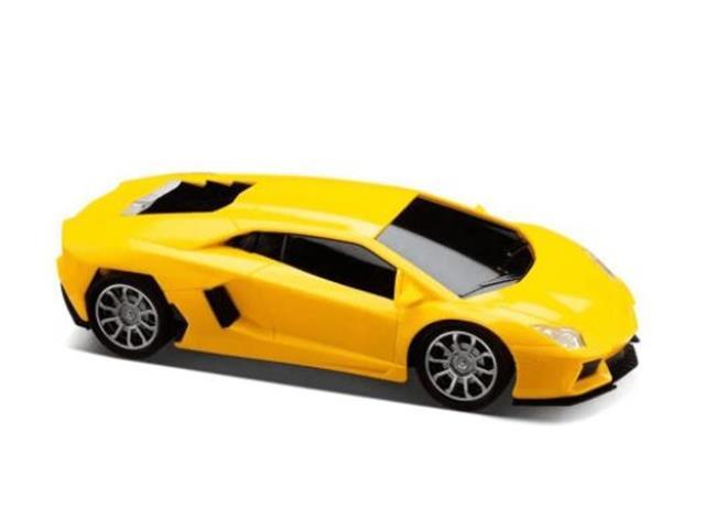 Carrinho de Contole Remoto Mulikids Racing Control Midnight Amarelo - 1