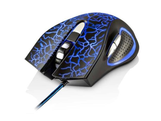 Mouse Gamer Multilaser MO250 3200DPI 6 Botões com LED - 1
