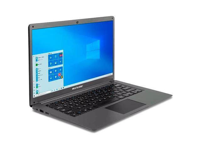 Notebook Multilaser PC130 Legacy Cloud 2GB 32GB W10 Cinza 14 Pol.