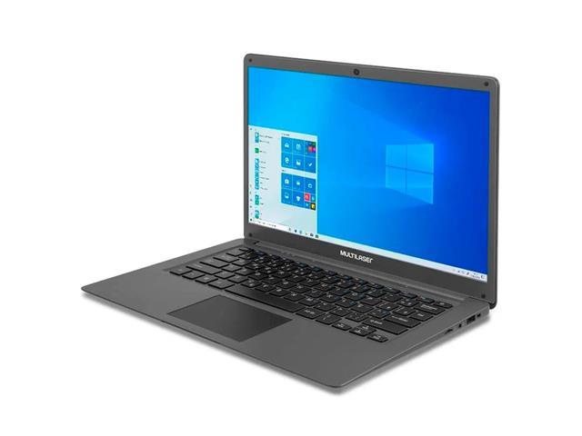 Notebook Multilaser PC130 Legacy Cloud 2GB 32GB W10 Cinza 14 Pol. - 2