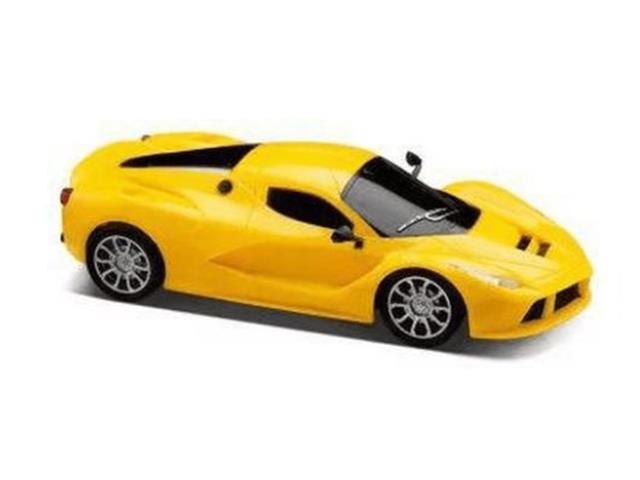 Carrinho de Contole Remoto Mulikids Racing Control SpeedX Amarelo - 2