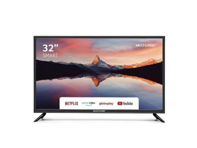 """Smart TV HD Multilaser TL011 Wi-Fi Integrado + Conversor Digital 32"""""""