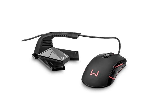 Mouse Warrior AC342 Bungee Wally Preto - 3