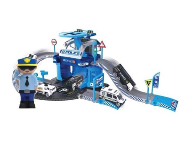 Garagem Policial Multikids BR1240 Express Wheels 42 Peças